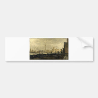 Toronto Skyline 41 Bumper Sticker