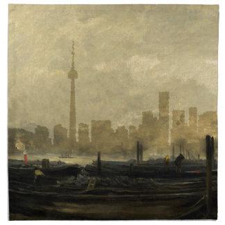Toronto Skyline 41 Napkin