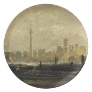 Toronto Skyline 41 Plate