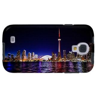 Toronto Skyline After Sunset Galaxy S4 Case