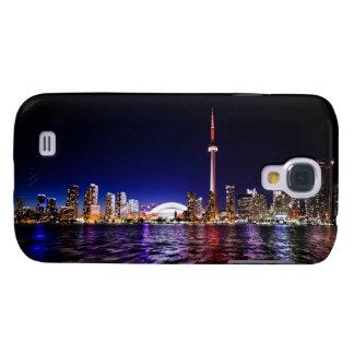 Toronto Skyline After Sunset Samsung Galaxy S4 Cover