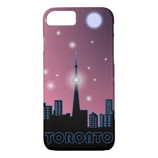"""Toronto Skyline at night"" case"