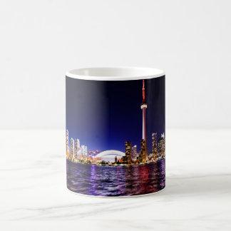 Toronto Skyline at Night Mug