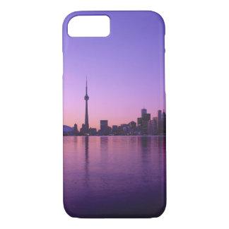 Toronto Skyline at night, Ontario, Canada iPhone 8/7 Case