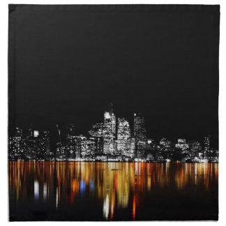 Toronto Skyline Napkin