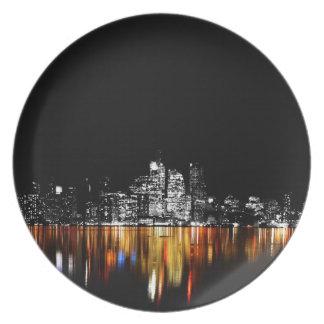 Toronto Skyline Plate