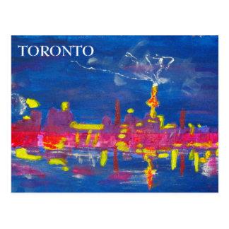 Toronto Skyline - Postcard