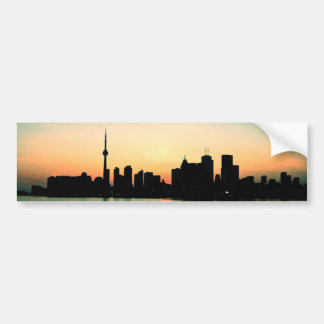 Toronto Sunset Bumper Sticker