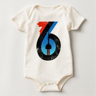 Toronto The Six Baby Bodysuit