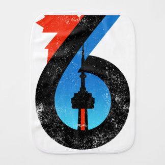 Toronto The Six Burp Cloth