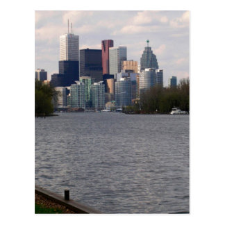 Toronto Water Front view from Centre Island V1 Postcard