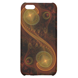 Torque Abstract Fractal Art Case For iPhone 5C