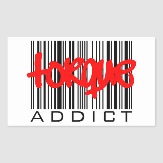 Torque Addict Rectangular Sticker