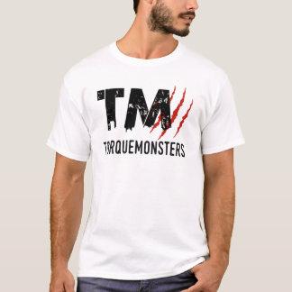 TorqueMonsters Large Logo Design T-Shirt