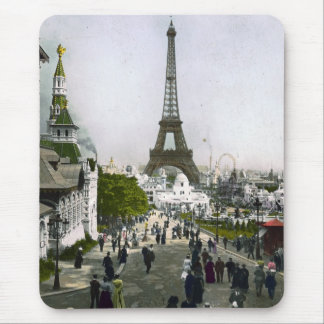 Torre Eiffel Universal Exhibition of Paris Mouse Pad