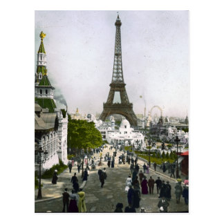 Torre Eiffel Universal Exhibition of Paris Postcard