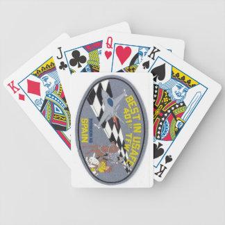 Torrejon Air Force Base Spain Playing Cards