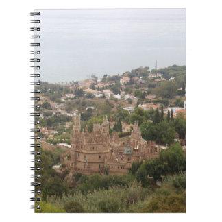 Torremolinos View Range - Spain Note Book