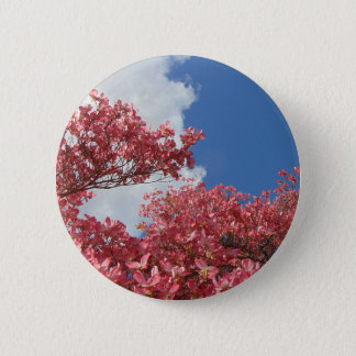 Torrent of Blossoms 6 Cm Round Badge