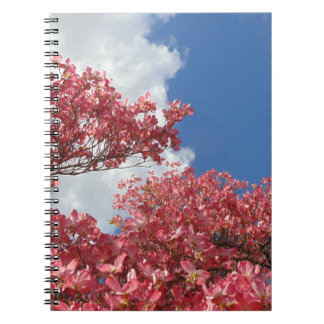 Torrent of Blossoms Spiral Note Books