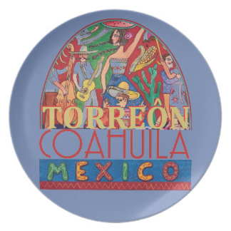 TORREON Mexico Plate