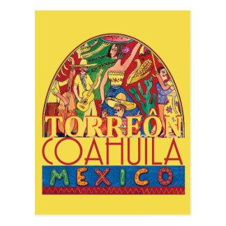 TORREON Mexico Postcard
