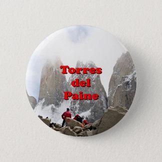 Torres del Paine: Chile 6 Cm Round Badge