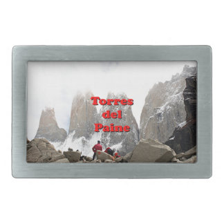Torres del Paine: Chile Belt Buckles