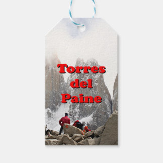 Torres del Paine: Chile Gift Tags