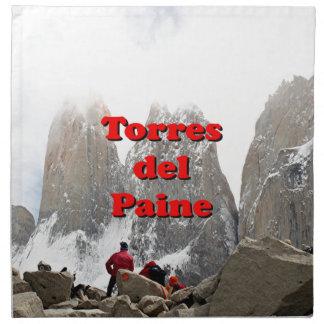 Torres del Paine: Chile Napkin