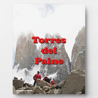 Torres del Paine: Chile Plaque