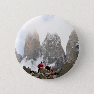 Torres del Paine National Park, Chile 6 Cm Round Badge