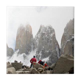 Torres del Paine National Park, Chile Ceramic Tile