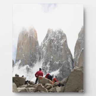 Torres del Paine National Park, Chile Plaque