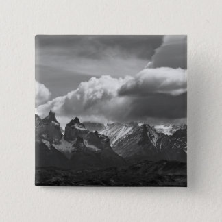 Torres Del Paine National Park,  Cuernos and 15 Cm Square Badge