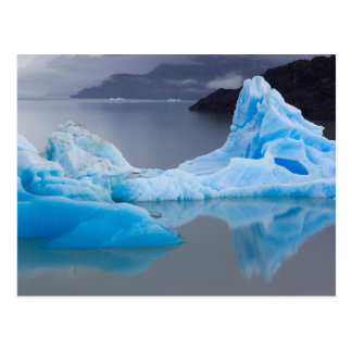 Torres del Paine National Park, Glacial ice Postcard