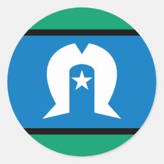 torresstrait islanders, Australia Round Sticker