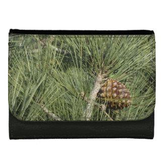 Torrey Pine Closeup Leather Wallet For Women