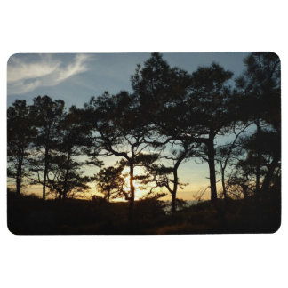 Torrey Pine Sunset II California Landscape Floor Mat