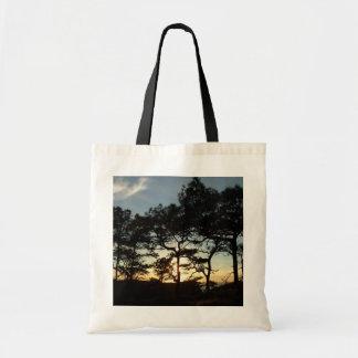 Torrey Pine Sunset II California Landscape Tote Bag