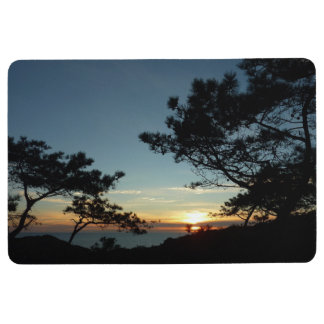 Torrey Pine Sunset III California Landscape Floor Mat