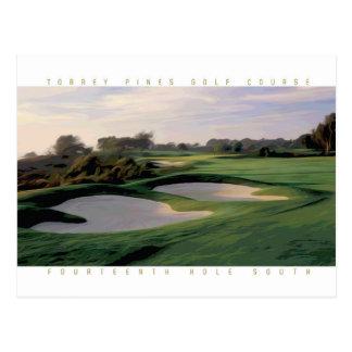 Torrey Pines South #14 postcard