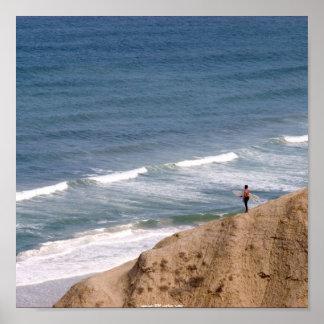 Torrey Pines Surfer Poster