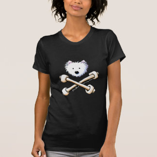 Torrid Crossbones Westie Ladies Shirt