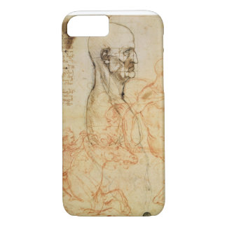 Torso of a Man in Profile, the Head Squared for Pr iPhone 7 Case