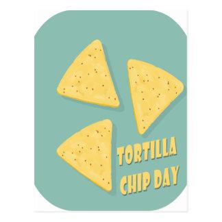 Tortilla Chip Day - Appreciation Day Postcard