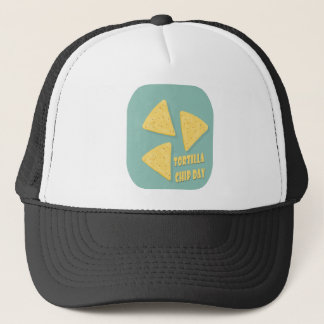 Tortilla Chip Day - Appreciation Day Trucker Hat