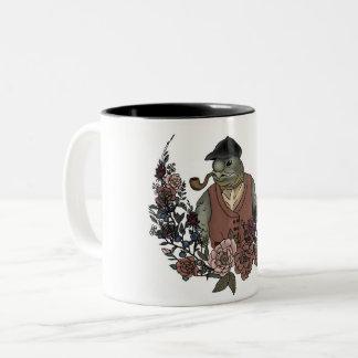 Tortoise and Roses Mug