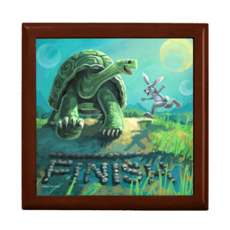 Tortoise and the Hare Art Gift Box