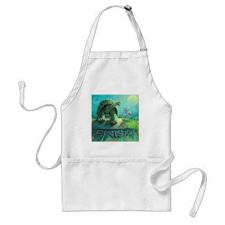 Tortoise and the Hare Art Standard Apron